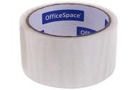 Скотч упаковочный 48мм*40м, 38мкм, OfficeSpace, ШК