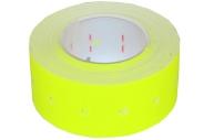 Этикет-лента21*12мм, желтая, 500 этикеток OfficeSpace