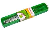 "Циркуль BRAUBERG ""Klasse"", 115 мм, пластиковый пенал, 210313"