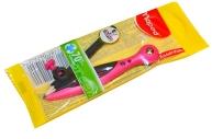 """Циркуль MAPED (Франция) """"Essentials"""", 120мм, пластиковый, универс. держатель+карандаш, ассорти, 018111"""