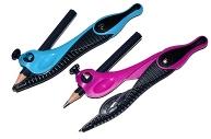 """Циркуль MAPED (Франция) """"Kidz"""", 135 мм, пластиковый, универсальный держатель + карандаш, ассорти, 1"""