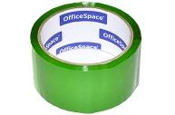 Скотч зеленый 48мм*40м, 45мкм, OfficeSpace, ШК