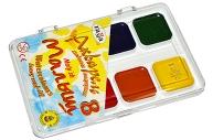"""Краски акварельные ГАММА """"Малыш """",  8 цв, без кисти, пластиковая коробка, 212067"""