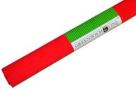 Бумага цветная креповая красная, 50*250см с32г/м2, в рулоне, Greenwich Line