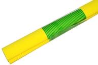 Бумага цветная креповая жёлтая, 50*250см с32г/м2, в рулоне, Greenwich Line