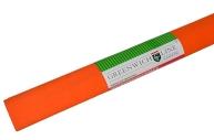 Бумага цветная креповая оранжевая, 50*250см с32г/м2, в рулоне, Greenwich Line