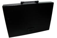 Портфель А4 без отдел черный BRAUBERG Energy, 256*330 мм 221202