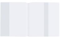 Обложка ПП для учебника Петерсон, Моро (1, 3), Гейдмана, STAFF/ПИФАГОР, универсальная, прозрачная, 70 мкм, 270х490 мм, 225185