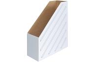 Накопитель-лоток архивный из микрогофрокартона OfficeSpace, 100мм, белый, до 900л.