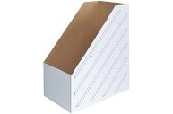 Лоток вертик гофро 150 мм А4 белый 1400 листов