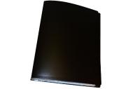 Папка 60 вклад. STAFF черная 0,5 мм,