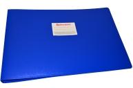 Папка 4 кольца BRAUBERG Cтандарт, А3, ГОРИЗОНТАЛЬНАЯ, 30мм, синяя, до 250 листов, 0, 8мм, 225767