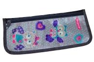 Пенал-косметичка ПИФАГОР для начальной школы, девочка, Сова, 23*12 см, 226502