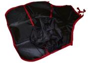 Фартук для труда и занятий творчеством ПИФАГОР с нарукавниками, с карманом, черный, 44х55см,
