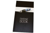 """Телефонная книга А5, 80л., 7БЦ,  """"Офис. Престиж"""", выборочный уф-лак, с высечкой, OfficeSpace"""