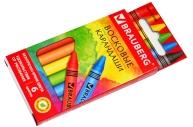"""Восковые карандаши 6 цв., BRAUBERG """"АКАДЕМИЯ"""","""