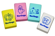 "Ластик Berlingo ""Animals"", прямоугольный, термопластичная резина, 28*18*10мм"
