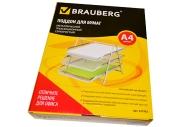 "Лоток гориз. для бумаг BRAUBERG ""Germanium"", 3 секции, металл, 267х295х355мм, серебр."