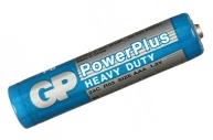 Батарейка GP PowerPlus AAA (R03) 24G солевая, OS4