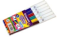 """Фломастеры Luxor """"Coloring"""", 06цв., смываемые, ПВХ, европодвес"""
