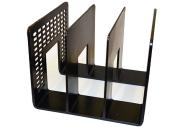 Лоток-сортер вертикальный, 3 отделения, 207х212х165, черный