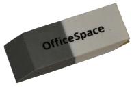 Ластик 41*14*8 мм скошенный, комбинированный, термопластичная резина,, OfficeSpace