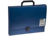 Папка-портфель 1 отделение OfficeSpace, 600мкм, синий