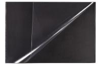 Коврик-подкладка настольный для письма BRAUBERG, 380х590 мм, с прозрачным карманом, черный, 236774