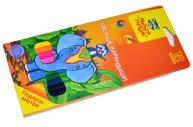 "Карандаши Мульти-Пульти ""Енот в Индии"", 12цв., заточен., картон, европодвес"