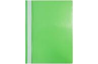 Папка-скоросшиватель пластик. OfficeSpace, А4, 120мкм, зеленая с прозр. верхом