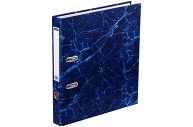 Папка-регистратор OfficeSpace 50мм, мрамор, синяя