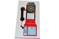 """Телефонная книга А5, 80л., 7БЦ,  """"Таксофон"""", выборочный уф-лак, с высечкой, OfficeSpace"""