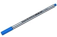 "Ручка капиллярная Luxor ""Fine Writer 045"" голубая, 0, 8мм"