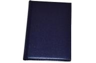 "Ежедневник недат., A6, 160л., балакрон,  ""Ariane"", синий, OfficeSpace"
