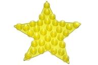 Мини-коврик для ванны «Звезда», 10?10 см, цвет МИКС