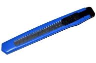 Нож канцелярский 9 мм Office, push-lock, европодвес
