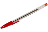 Ручка шариковая красная, 0, 7мм, OfficeSpace