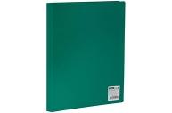 Папка 10 вклад. OfficeSpace, 9мм, 400мкм, зеленая