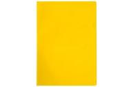 Папка-уголок А4, 100мкм, прозрачная желтая OfficeSpace,