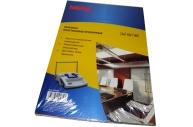 Обложки для переплета пластиковые ProMega Office прозр., А4, 180мкм, 100шт/уп