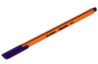 """Ручка капиллярная Berlingo """"Rapido""""фиолетовая, 0,4 мм, трехгранная"""