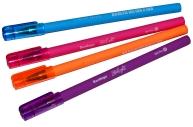 """Ручка шар синяя, 0, 7мм, игольч., прорезиненный корпус Berlingo """"Starlight"""""""