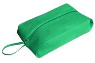 Сумка для обуви, отдел на молнии, цвет зеленый