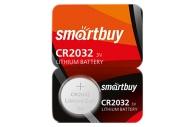 Батарейка SmartBuy CR2032 литиевая, BC5