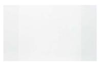 Обложка 210 х 350 мм, 30 мкм, для тетрадей и дневников ПП