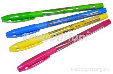 "Ручка шар синяя, 0, 7мм, корпус ассорти, Berlingo""Blitz Pro"","