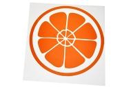 Термотрансфер «Апельсин», 12 ? 12 см