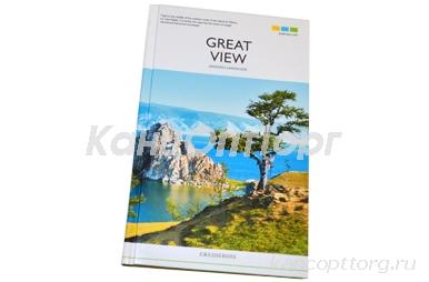 "Ежедневник недат., A5, 136л. 7БЦ ""Путешествия. Great view"", OfficeSpace"