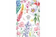 "Ежедневник недатир. A5, 160л., 7БЦ OfficeSpace ""Цветы. Яркий мир"""