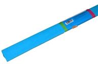 Бумага крепированная ArtSpace, 50*200см, 30г/м2, голубая, в рулоне